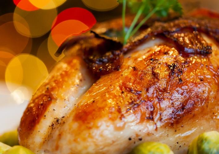 Thanksgiving meal at Oak Brook Hills