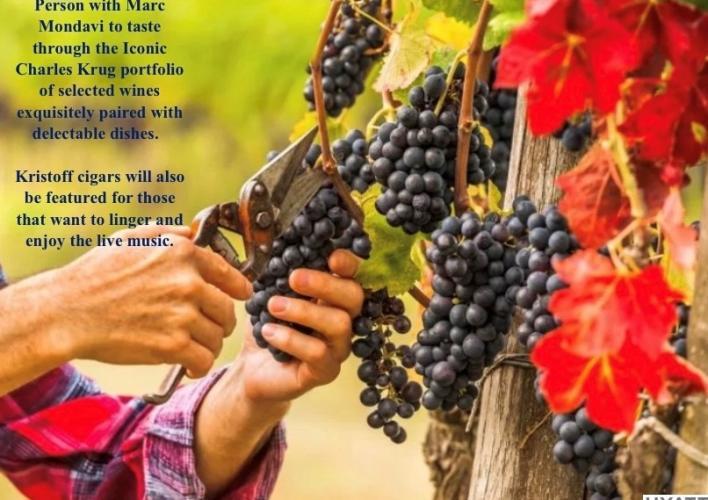 Charles Krug/Mondavi Family Wine-Maker Dinner