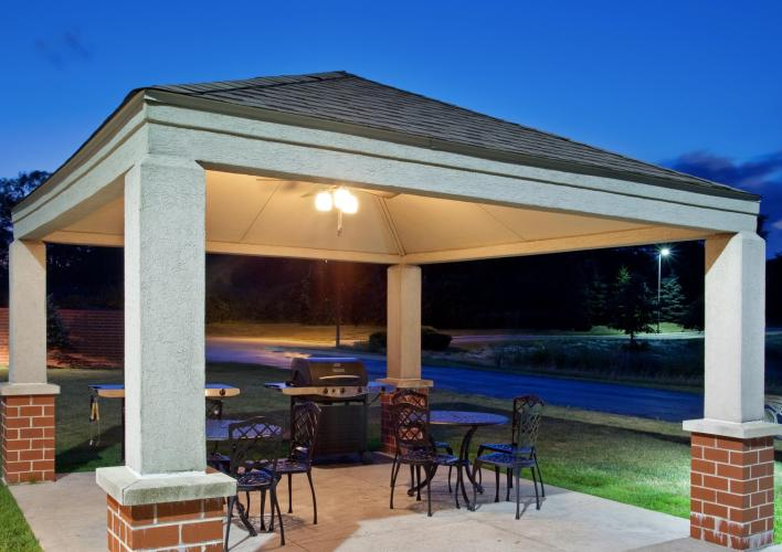 Gazebo and Grill Station