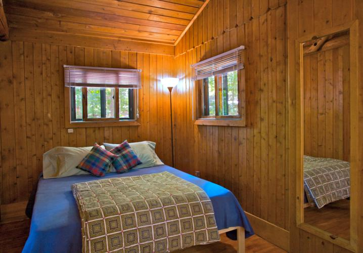 Montfair Cedar Cabins Feature Comfortable Organic Latex Beds made Locally in Crozet