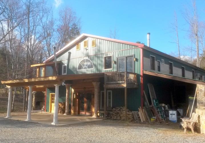 Zen Barn, Main Entrance