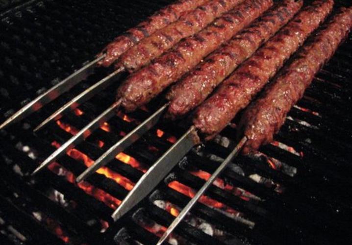 Adana Kebab- On The Grill