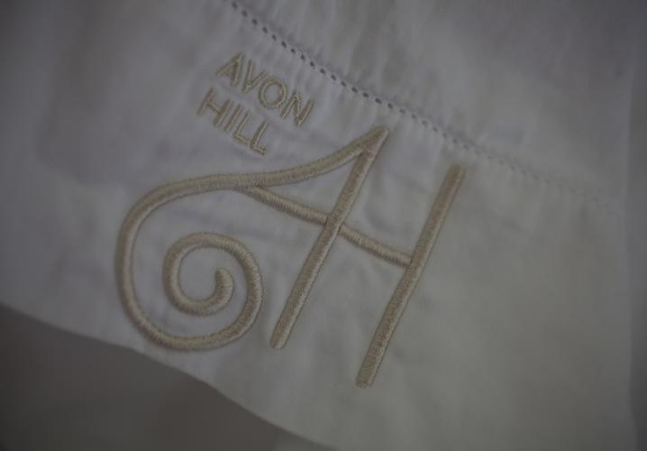 Avon Hill guests enjoy premium linens on all beds.