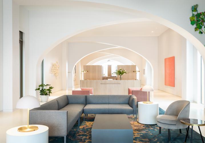 Quirk Hotel Lobby