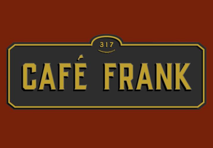 Cafe Frank Square Logo