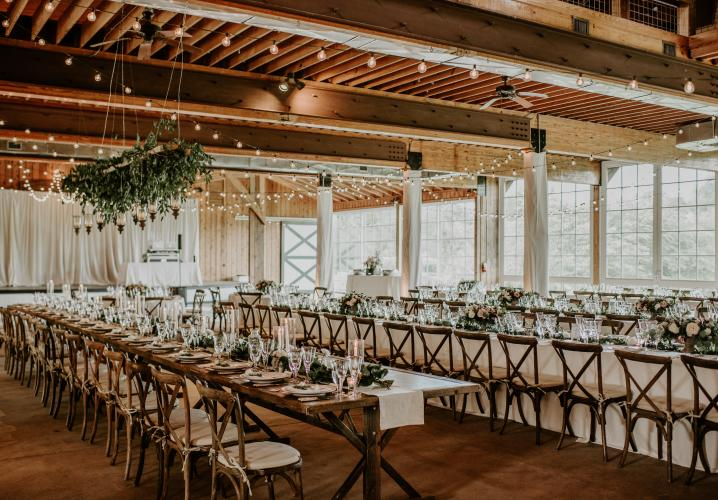 Charlottesville Wedding Receptions at Castle Hill Cider