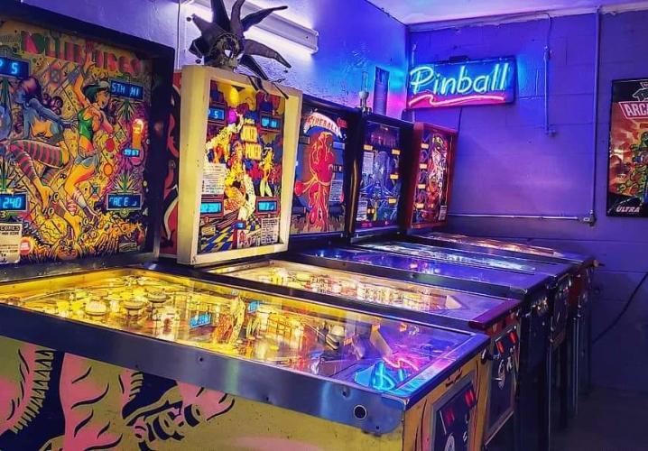 Bally Alley Pinball Machines