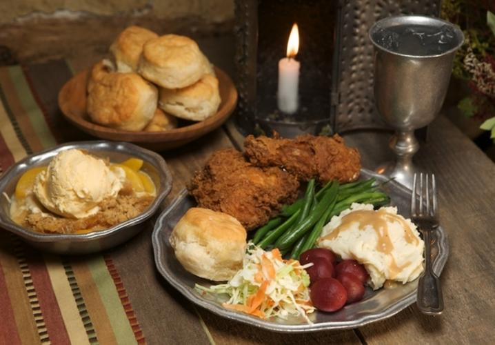 Hearty Southern Fair at Michie Tavern