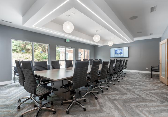 Hillsdale Board Room