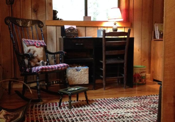 Quiet Cabin Setting