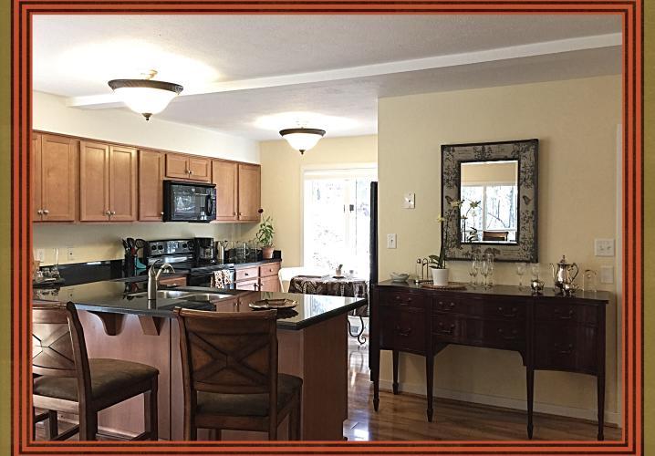 Kitchen at Black Bear Mountain Retreat