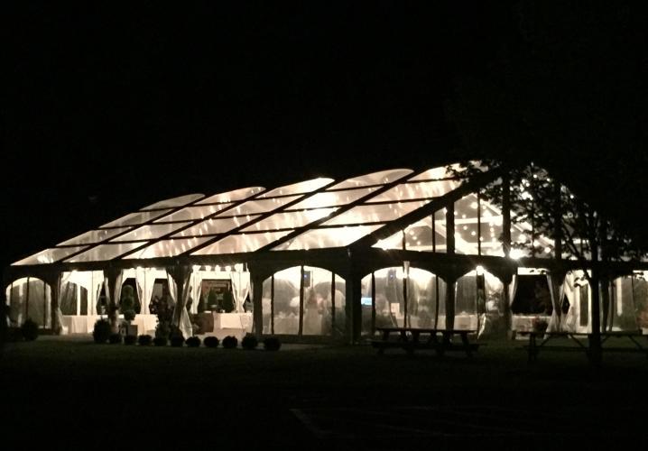 Tent at Night!