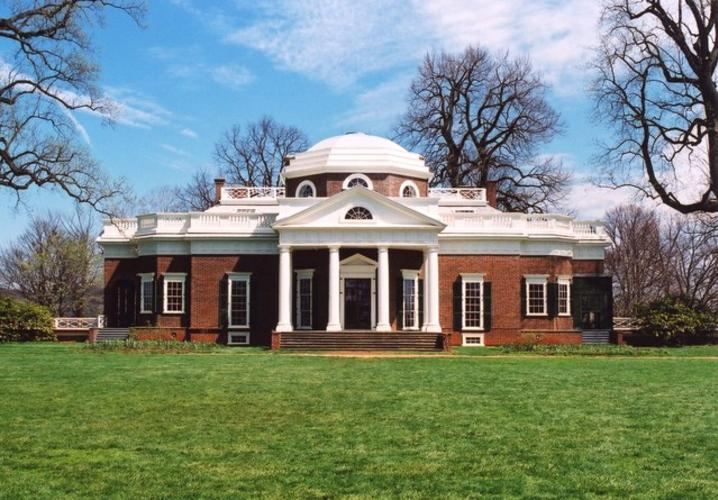 Monticello West Front