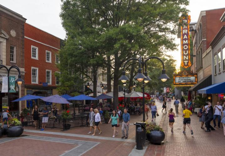 Downtown Mall - Summer