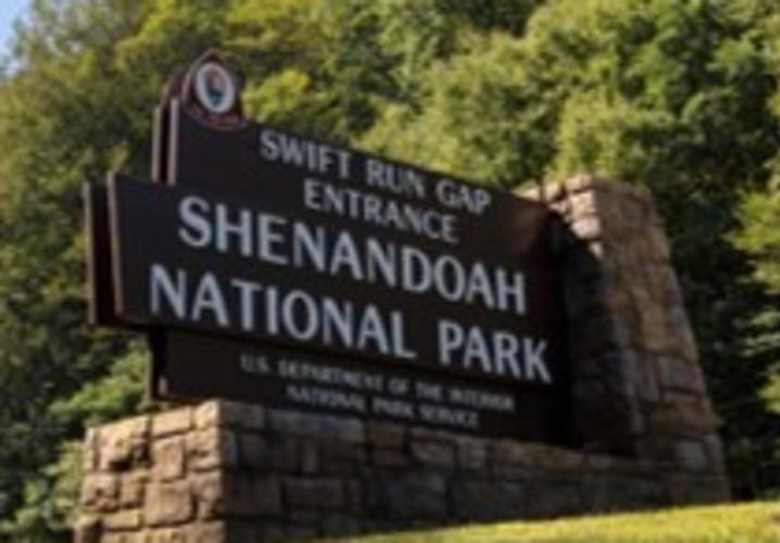 Swift Run Gap Entrance Sign