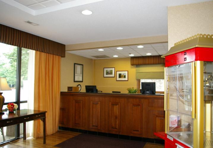 The Comfort Inn Lobby