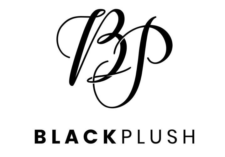 black plush