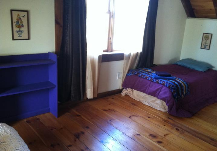 Extra bed upstairs in large bedroom