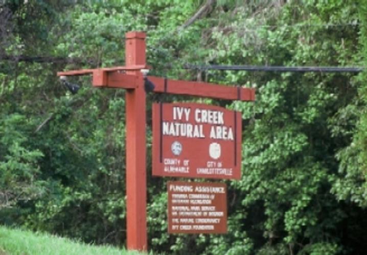 ivy creek natural area