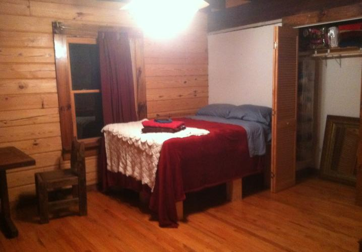Loghouse Large Bedroom