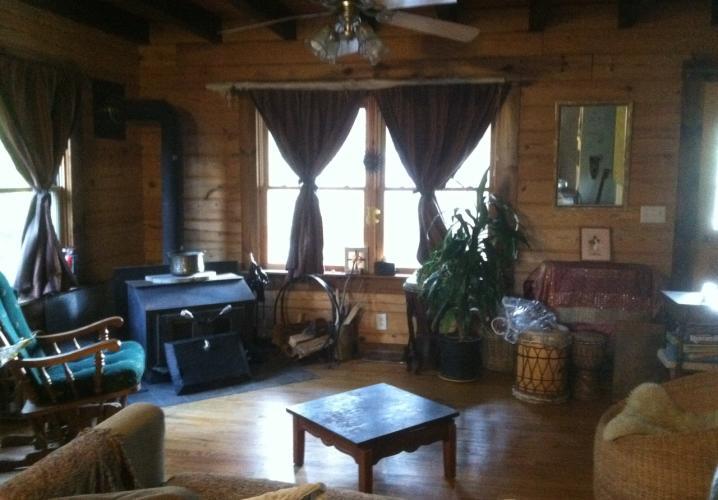 Loghouse Living Room