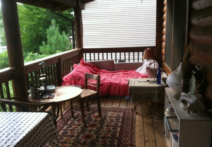 Loghouse Porch
