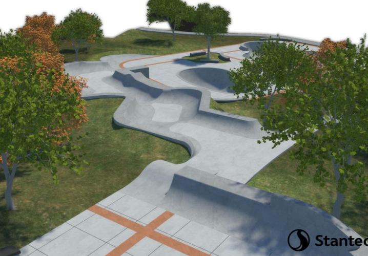 mcintire skateboard park