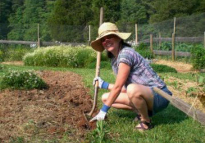 Michele Gardening