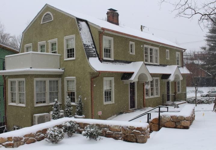 Oakhurst in the snow
