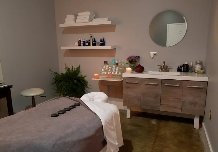 Oasis Day Spa & Body Shop Treatment Room