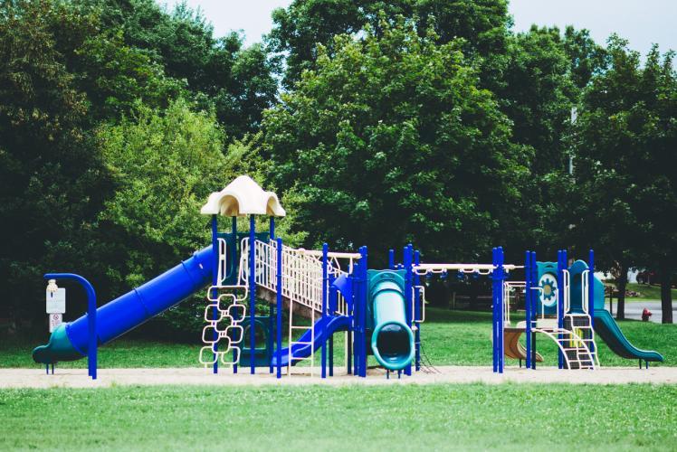Mitscher Park in Eau Claire, Wisconsin
