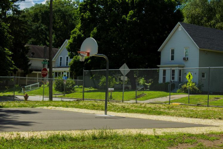 Newell Neighborhood Park in Eau Claire, Wisconsin