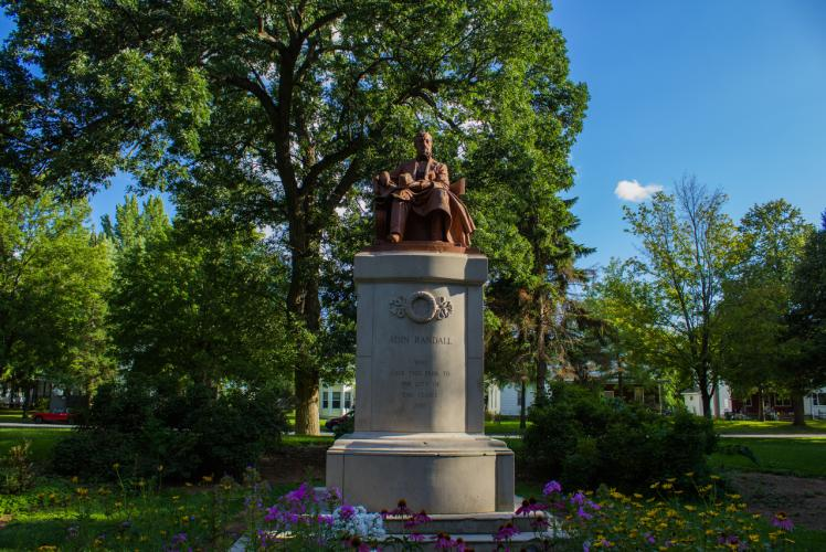 Randall Park in Eau Claire, Wisconsin