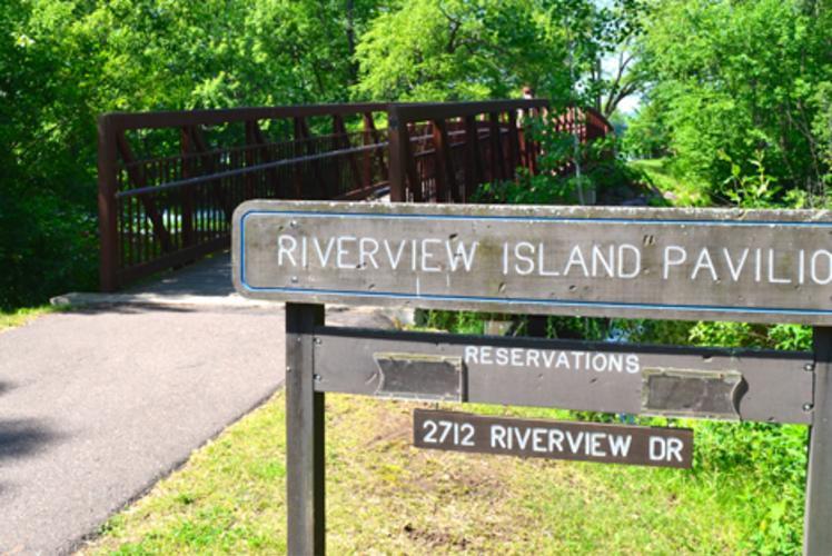 Riverview Park in Eau claire, Wisconsin