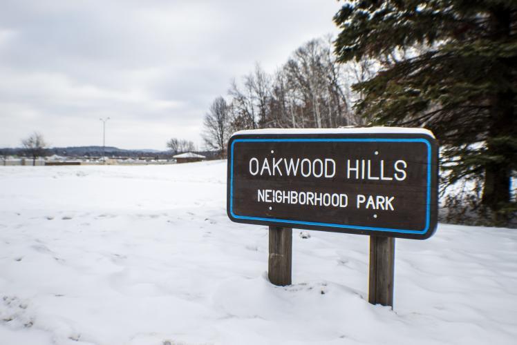 Oakwood Hills in Winter