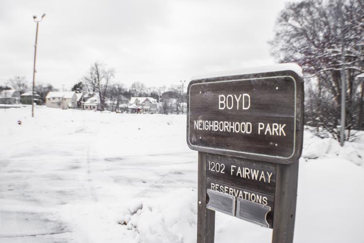 Boyd Park Winter