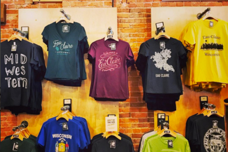 The Local Store Eau Claire Wisconsin T-shirts