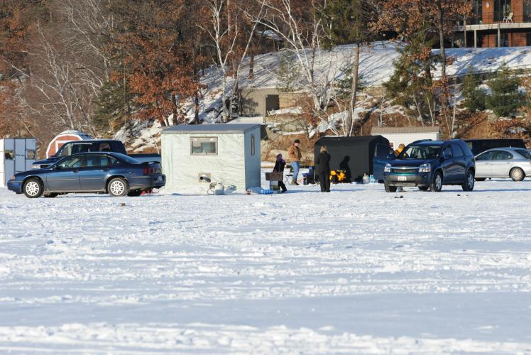 Lake Altoona Ice Fishing