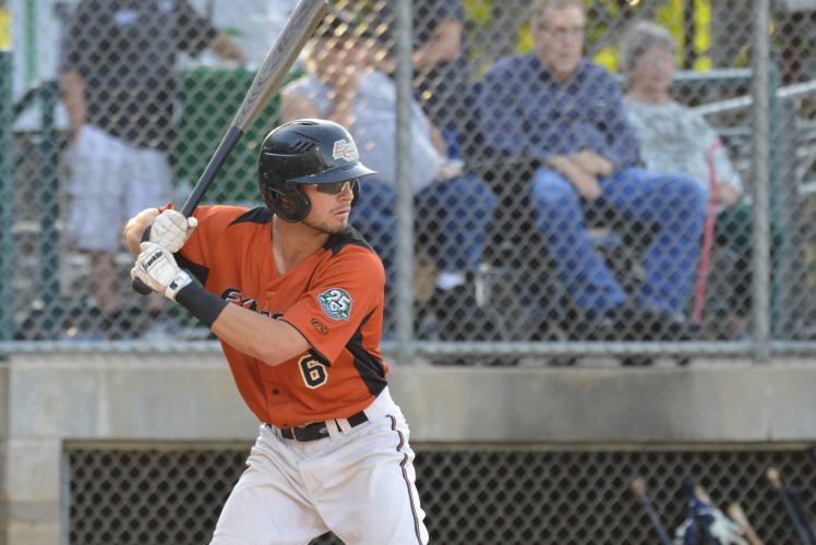 Eau Claire Express Baseball Batter