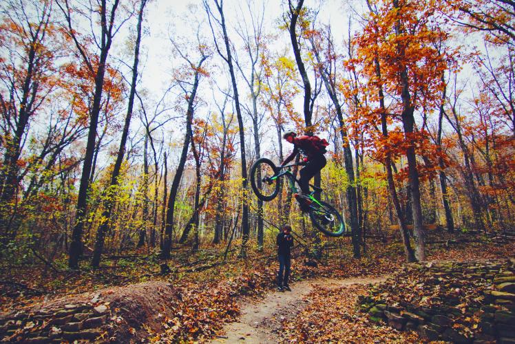Mountain Biking at Pinehurst Park
