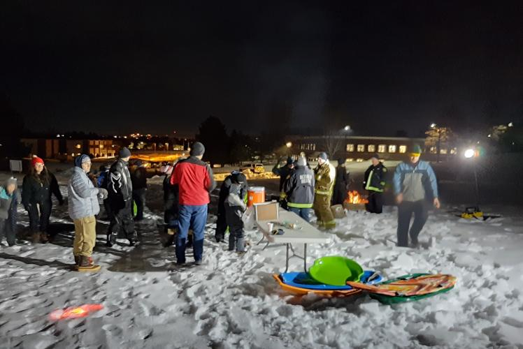 Community Glow Night at Jelly Bean Hill