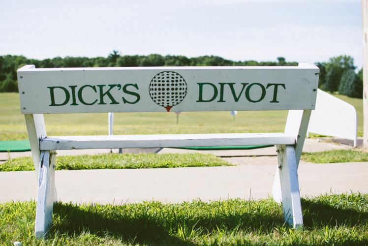 Dick's Divot Driving Range in Eau Claire, Wisconsin