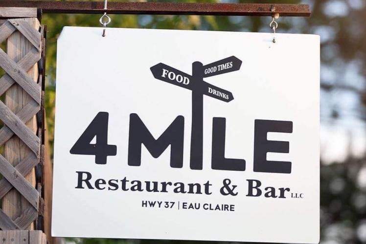 4 Mile Sign