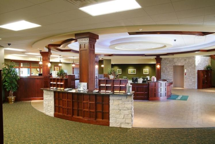 Charter Bank lobby