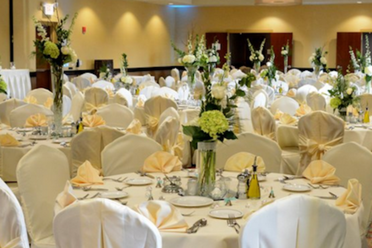 Holiday Inn Eau Claire South Wedding Reception