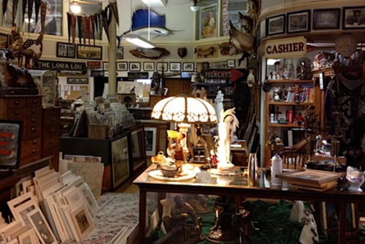 Inside Antique Emporium Eau Claire