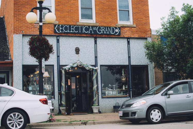 Eclecitca on Grand in Eau Claire, Wisconsin