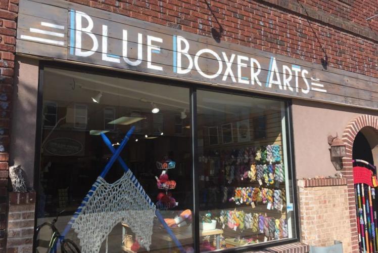 Blue Boxer Arts Store Front