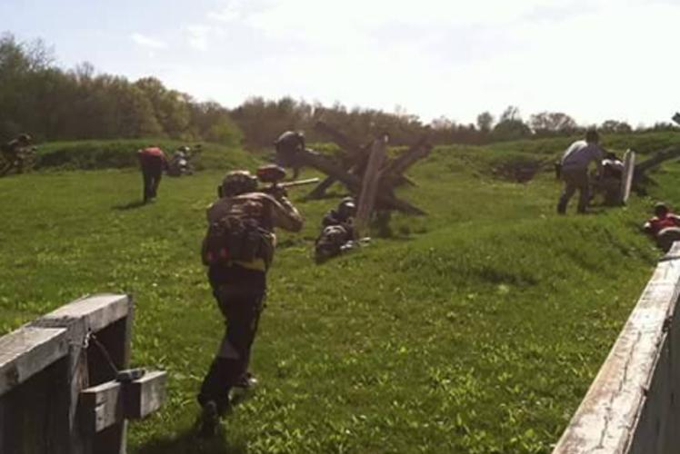 Battlefield Paintball In Osseo, Wisconsin