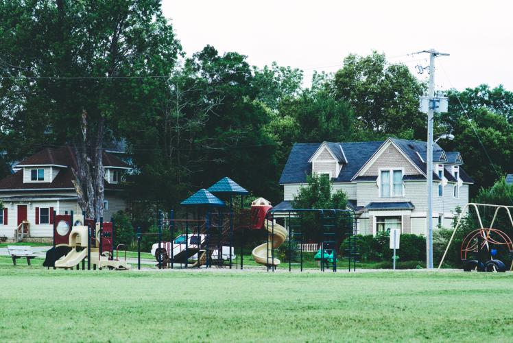 Boyd Park in Eau Claire, Wisconsin